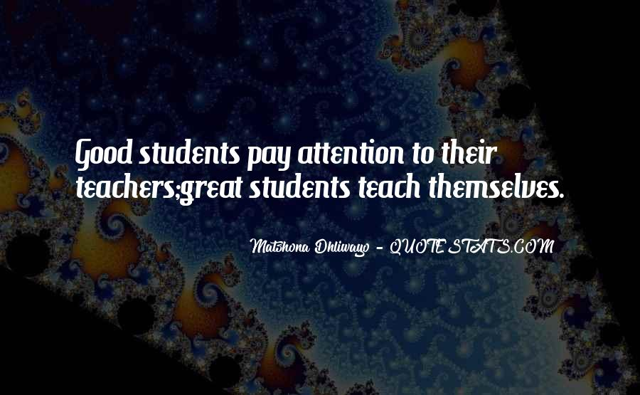 Quotes About Students From Teachers #363676