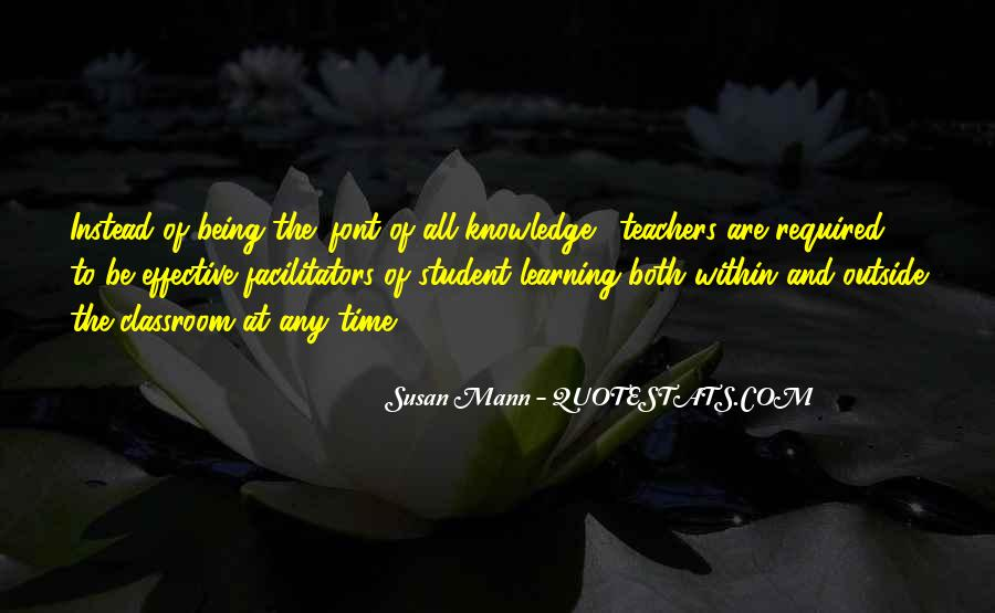 Quotes About Students From Teachers #542253