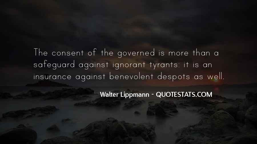 Quotes About Consent Of The Governed #1393354