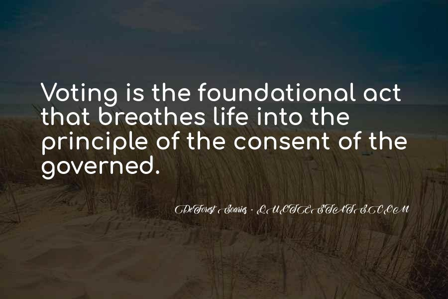 Quotes About Consent Of The Governed #1429678