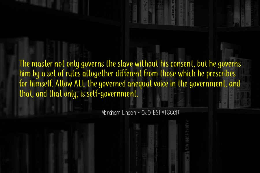 Quotes About Consent Of The Governed #1510395