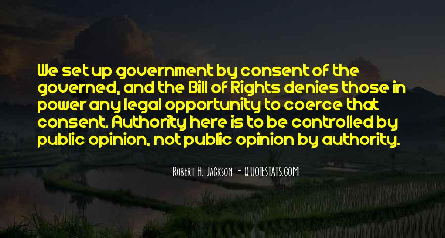 Quotes About Consent Of The Governed #764495
