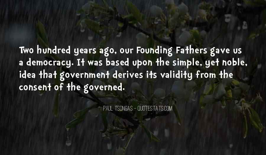 Quotes About Consent Of The Governed #820772