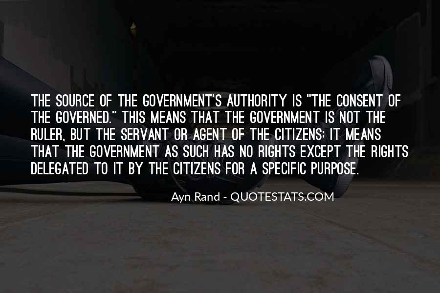 Quotes About Consent Of The Governed #835002