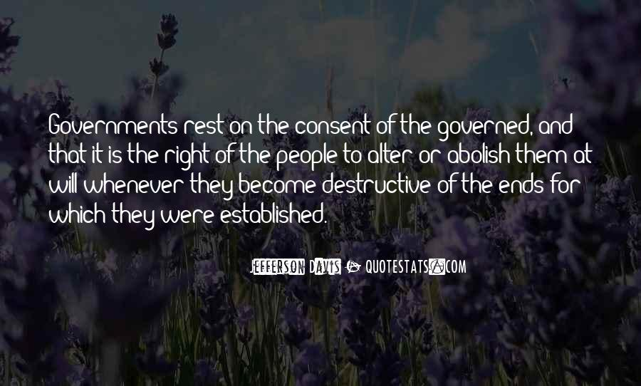 Quotes About Consent Of The Governed #992172