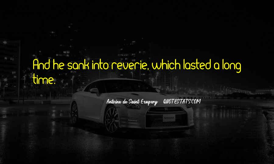 Quotes About Reverie #1311979