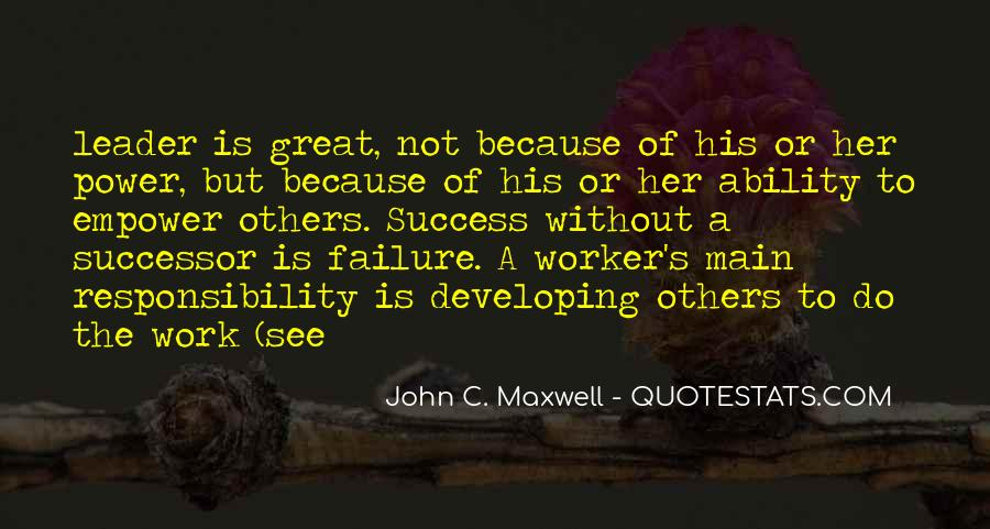 Quotes About Failure Of Others #1246250