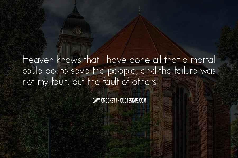 Quotes About Failure Of Others #1401337