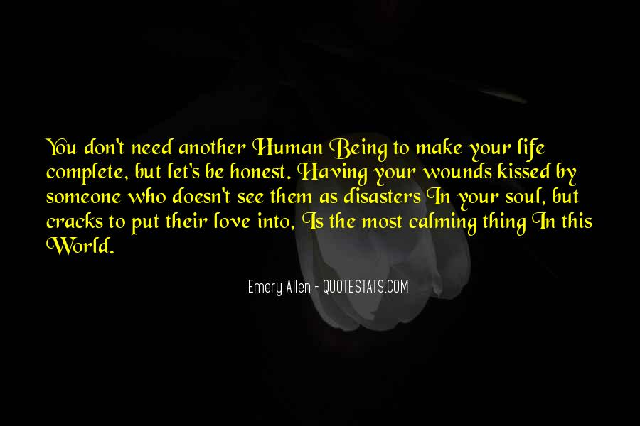 Quotes About Calming Someone #766036