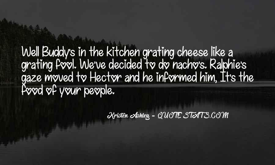 Quotes About Food Buddy #1780398