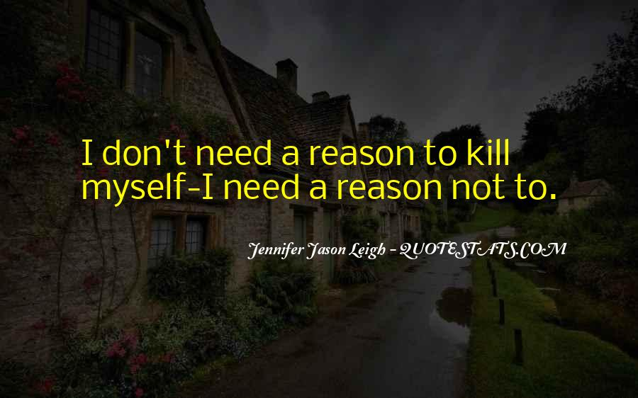 Quotes About Suicidal #249868