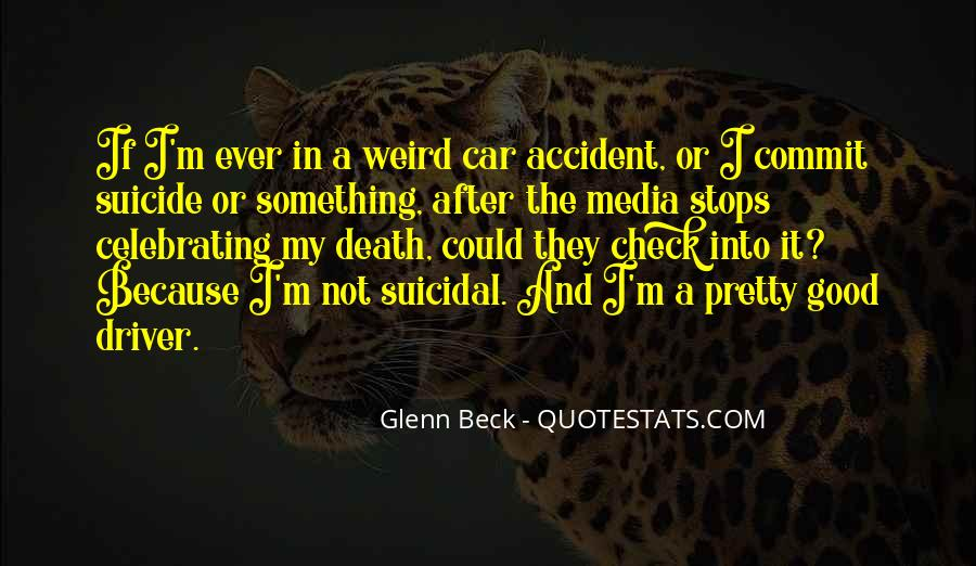 Quotes About Suicidal #39398