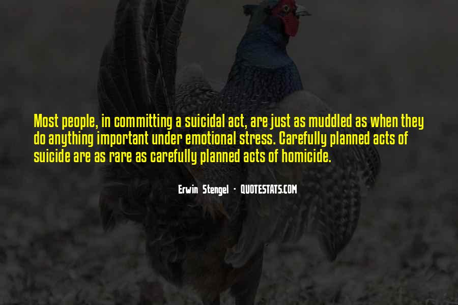 Quotes About Suicidal #414