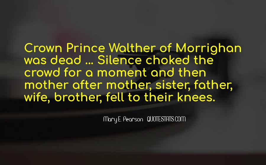 Quotes About Moment Of Silence #1175125