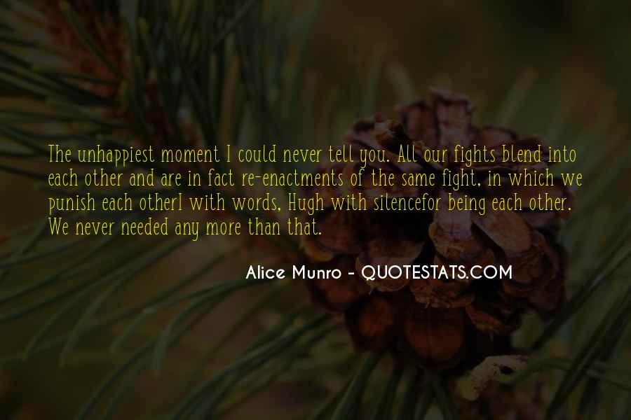 Quotes About Moment Of Silence #1204487