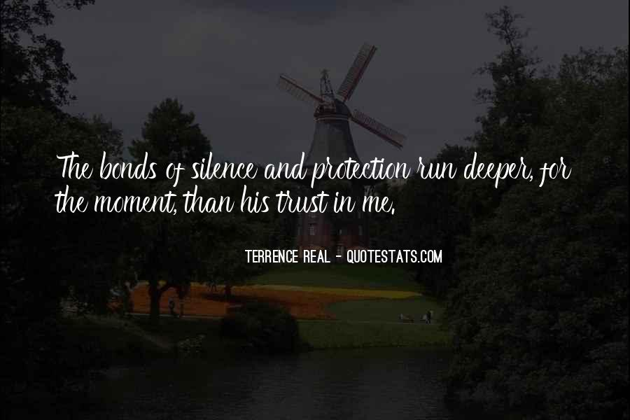 Quotes About Moment Of Silence #1867734