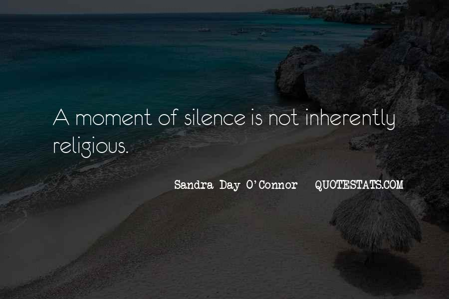 Quotes About Moment Of Silence #658252