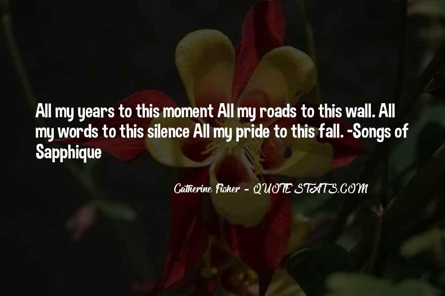 Quotes About Moment Of Silence #80674