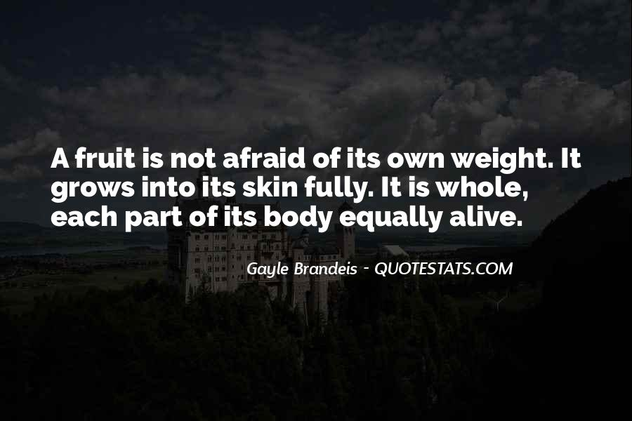 Quotes About Body Weight #153548