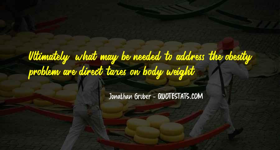 Quotes About Body Weight #35463