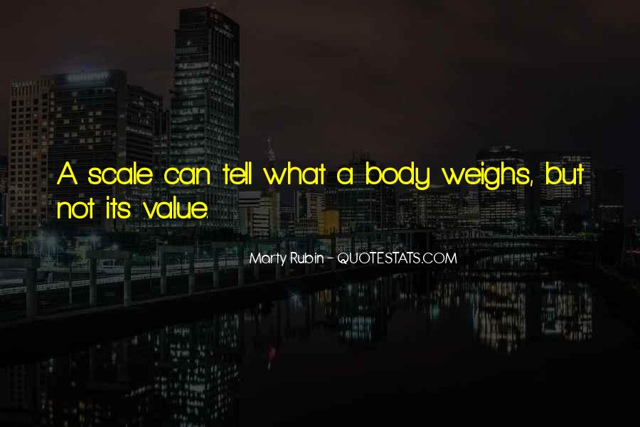 Quotes About Body Weight #430033