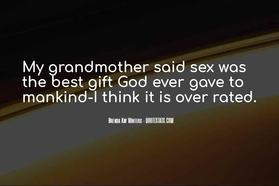 Quotes About The Best Grandmother #1744388