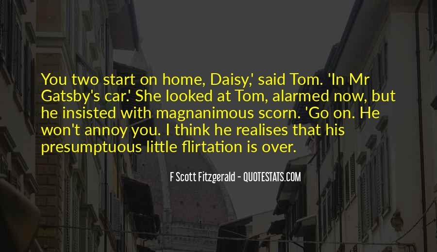 Quotes About Gatsby's Car #1616921