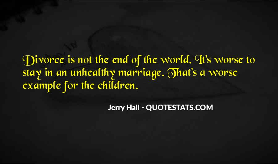 Quotes About Unhealthy Marriage #874862