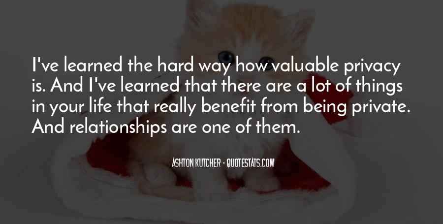 Quotes About Relationships Being Hard #1639765