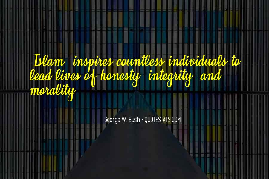 Quotes About Honesty And Integrity #1075286
