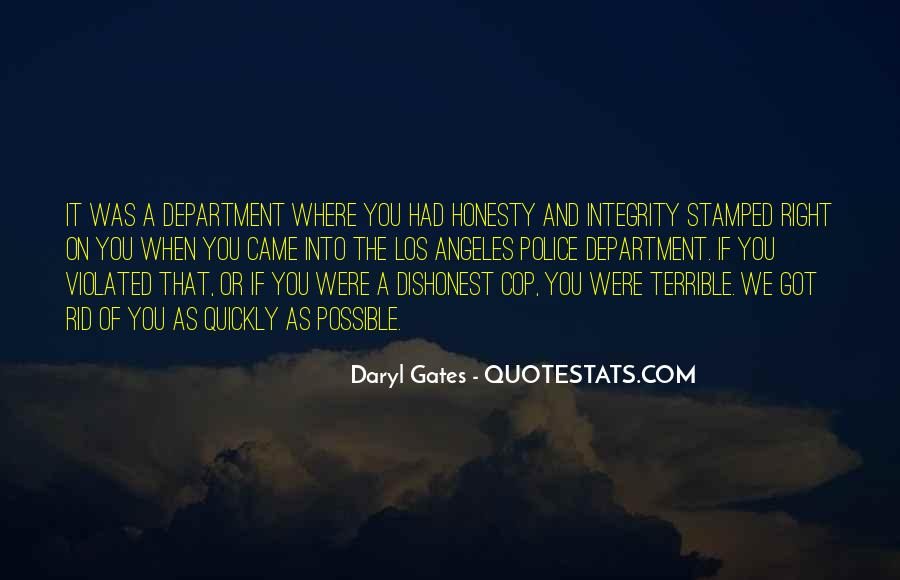 Quotes About Honesty And Integrity #1093380