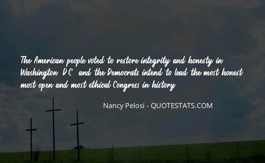 Quotes About Honesty And Integrity #1351883