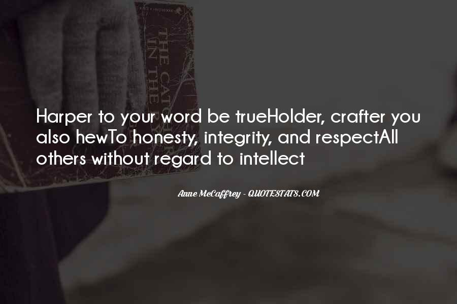 Quotes About Honesty And Integrity #1458063