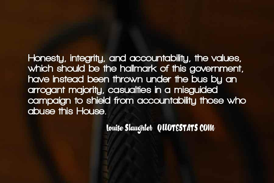 Quotes About Honesty And Integrity #246815