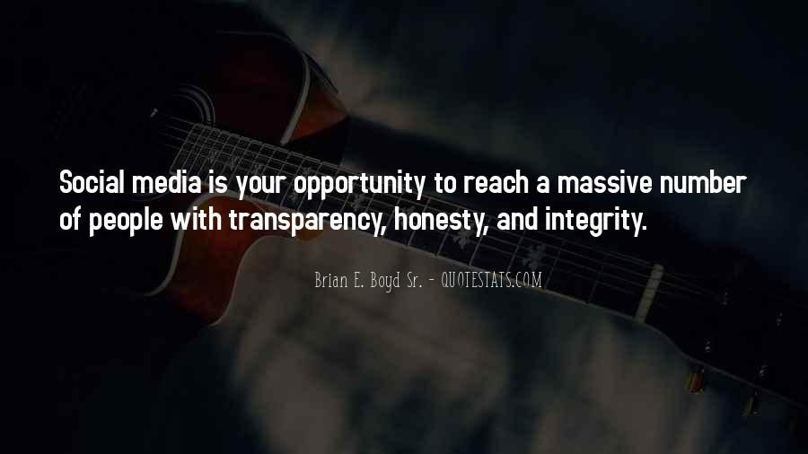 Quotes About Honesty And Integrity #261897
