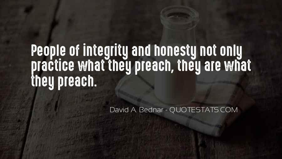 Quotes About Honesty And Integrity #31181