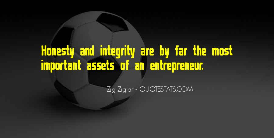 Quotes About Honesty And Integrity #343232