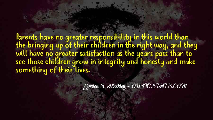 Quotes About Honesty And Integrity #618990