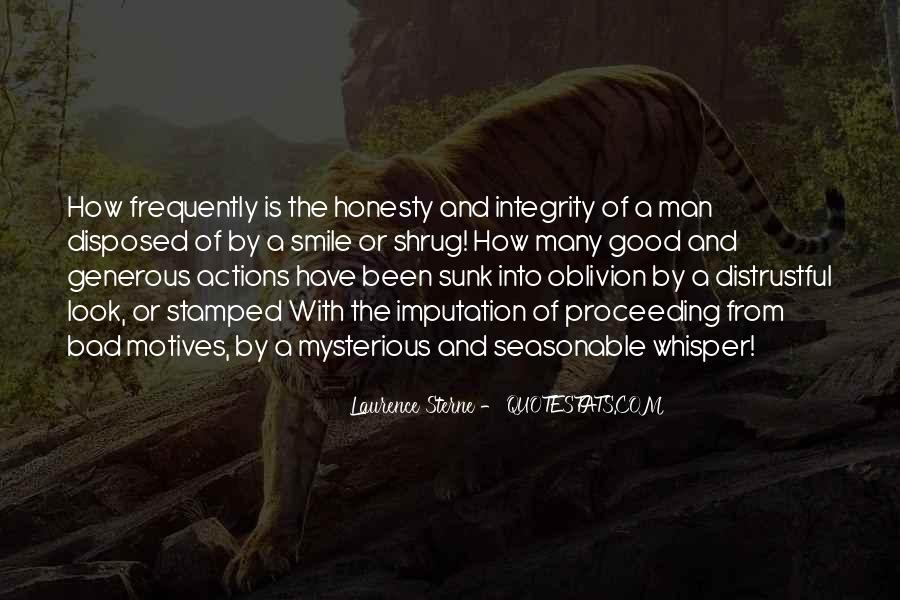 Quotes About Honesty And Integrity #679097