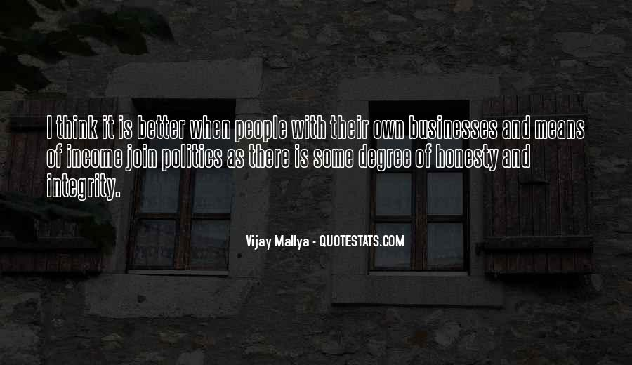 Quotes About Honesty And Integrity #690341