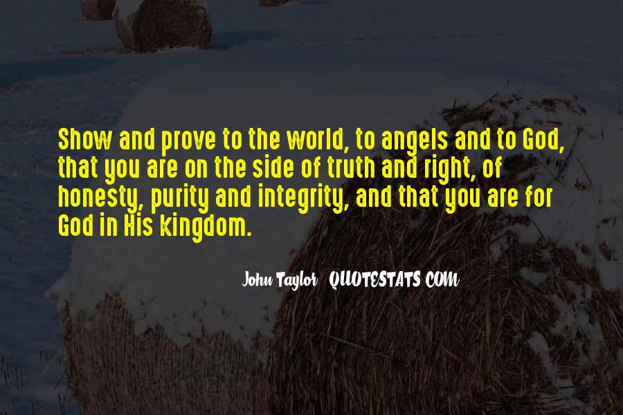 Quotes About Honesty And Integrity #730324