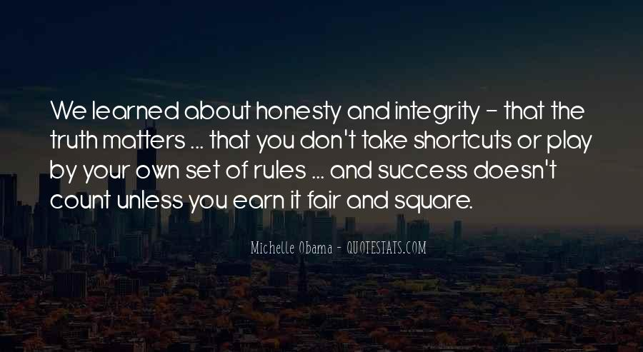 Quotes About Honesty And Integrity #962703