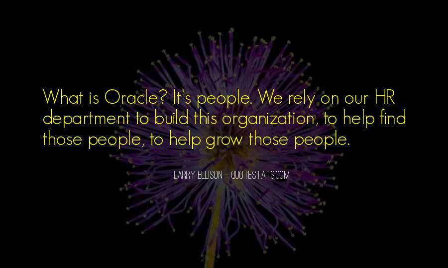 Quotes About Hr Department #156016