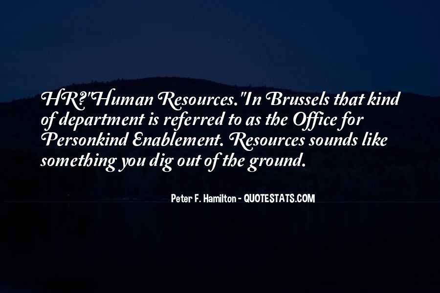Quotes About Hr Department #439091