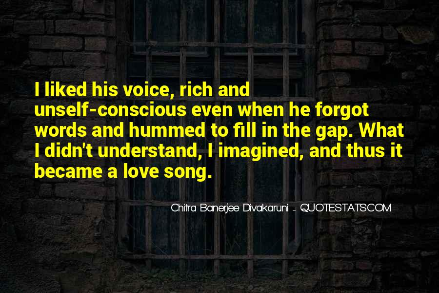 Quotes About Voice And Love #174357