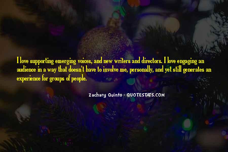 Quotes About Voice And Love #212559
