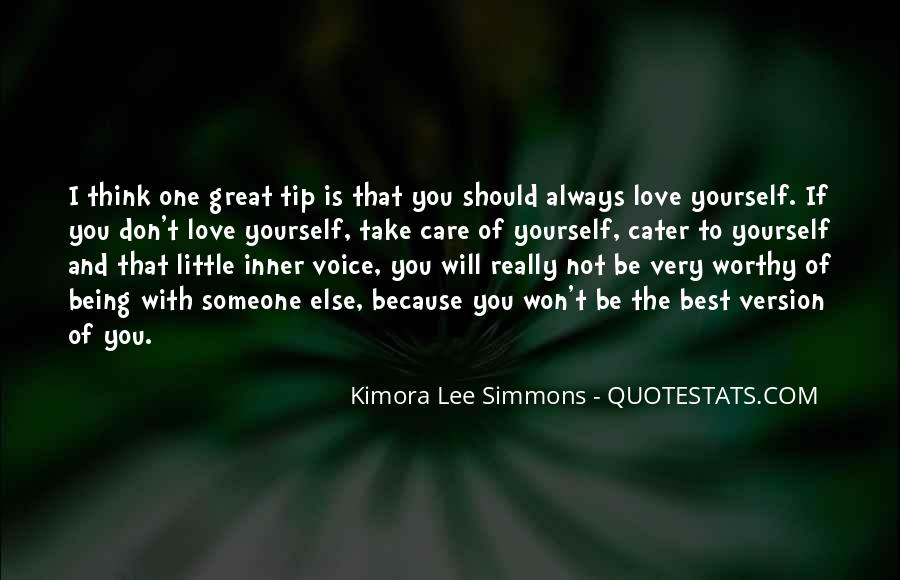 Quotes About Voice And Love #29582