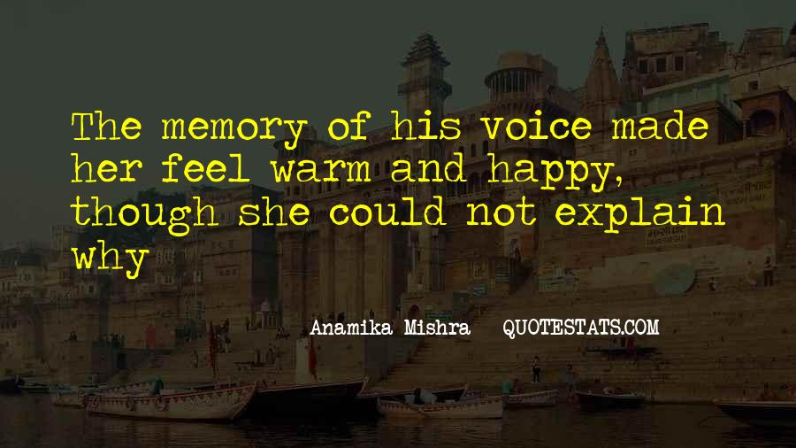 Quotes About Voice And Love #70087