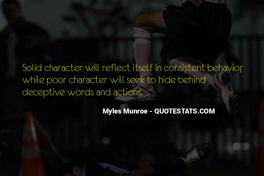 Quotes About Character And Actions #1204926