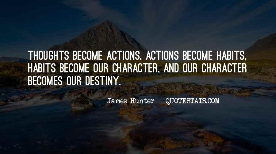 Quotes About Character And Actions #1223071